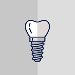 dental implant icon